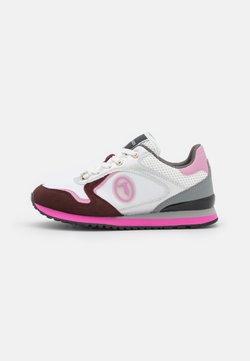 Trussardi - KIWI MIX - Sneakersy niskie - white/pink
