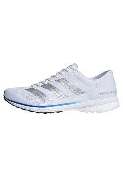 adidas Performance - ADIZERO ADIOS 5 SHOES - Juoksukenkä/neutraalit - white