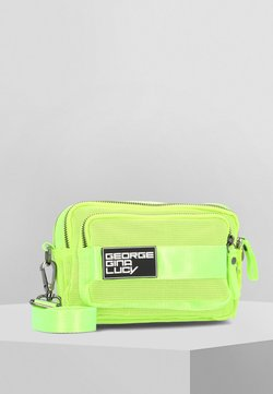 George Gina & Lucy - LOVE LETTERS  - Sac bandoulière - neon yellow