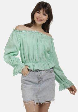 myMo - BLUSE - Bluse - minze