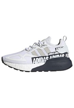 adidas Originals - ZX 2K BOOST SHOES - Sneaker low - white