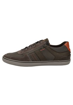 Geox - Sneaker low - anthracite/dk coffee c9a6t