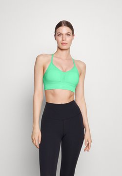Nike Performance - INDY SEAMLESS BRA - Urheiluliivit: kevyt tuki - green glow
