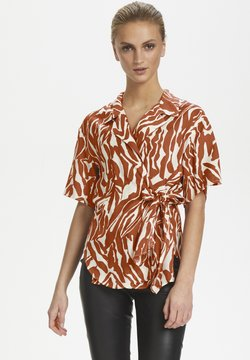 Soaked in Luxury - SLNIKAIA - Bluse - zebra strokes red