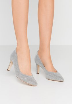 Peter Kaiser Wide Fit - WIDE FIT TRIXI - Classic heels - silber shimmer
