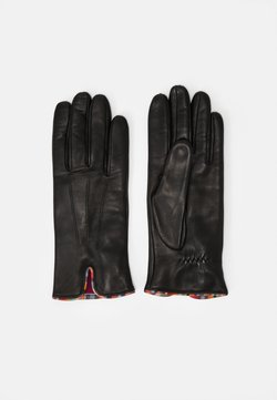 Paul Smith - GLOVE SWIRL PIPING - Gloves - black