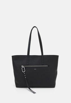 HUGO - KIM SHOPPER - Shopping bag - black