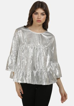 myMo at night - Bluse - silber
