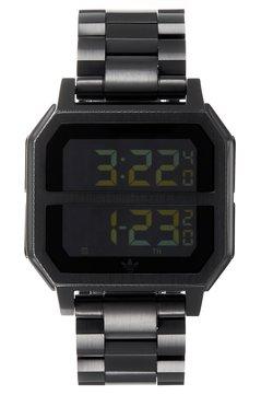 adidas Originals - ARCHIVE MR2 - Montre à affichage digital - all black