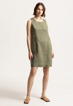 Solar - Sukienka letnia - khaki