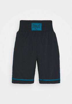 Everlast - CROSS - Pantalón corto de deporte - black/blue