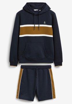 Next - Sweatshirt - dark blue, light brown