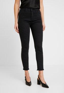 edc by Esprit - ZEBRA PRINT - Jeans Skinny Fit - black