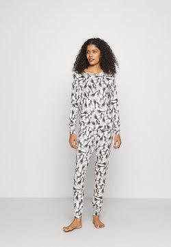 Boux Avenue - GIRAFFE & ZEBRA PRINT TWOSIE  - Nachtwäsche Shirt - black/white