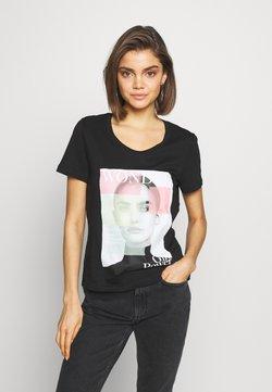 Vero Moda - VMIMOGENDIANA BOX - T-Shirt print - black