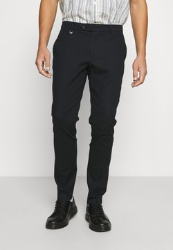 Antony Morato - TROUSERS BRYAN SKINNY FIT IN STRETCH FABRIC - Trousers - ink blu
