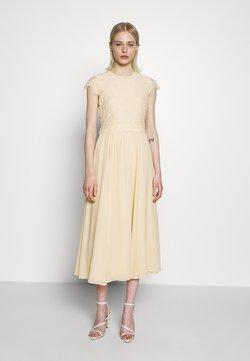IVY & OAK - DRESS - Vapaa-ajan mekko - lemon cream