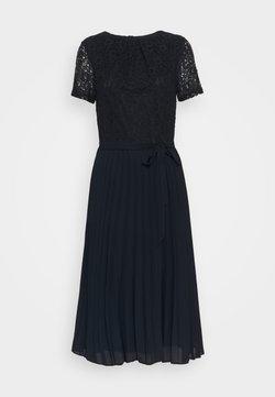 Dorothy Perkins - PLEATED MIDI DRESS - Robe d'été - navy