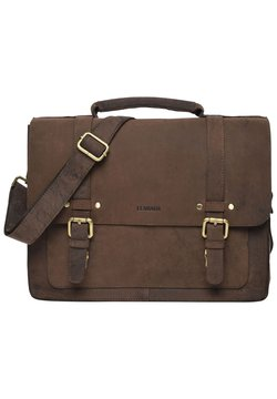 Leabags - OMAHA - Portfölj - light brown