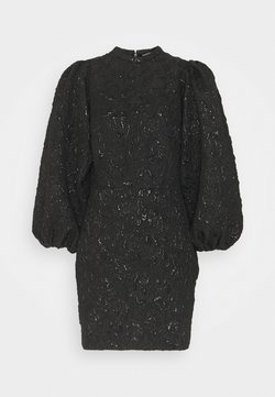 Samsøe Samsøe - HARRIET SHORT DRESS - Cocktailkleid/festliches Kleid - black