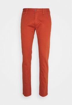 s.Oliver - Pantalon classique - dark orange