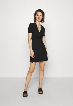 Samsøe Samsøe - SHORT DRESS - Vestido ligero - black