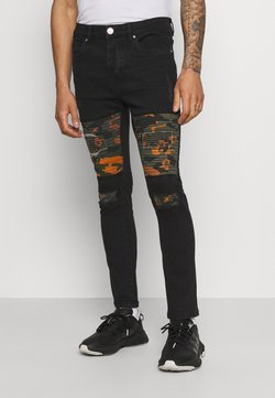 Brave Soul - ROBBIN CAMOO - Jeans Skinny Fit - charcoal wash