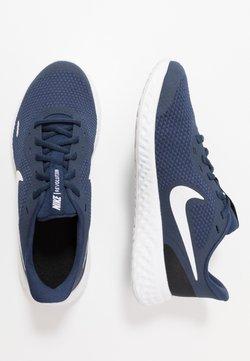Nike Performance - REVOLUTION UNISEX - Juoksukenkä/neutraalit - midnight navy/white/black