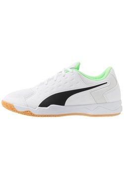 Puma - AURIZ - Trainings-/Fitnessschuh - black/white/green