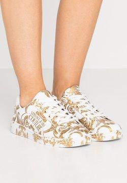 Versace Jeans Couture - CAP SOLE - Matalavartiset tennarit - bianco ottico