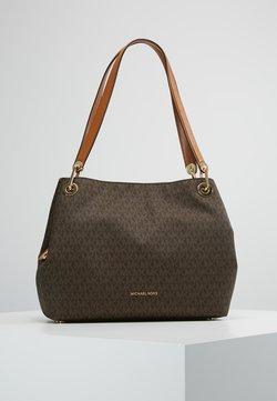 MICHAEL Michael Kors - RAVEN SHOULDER BAG - Handtasche - brown