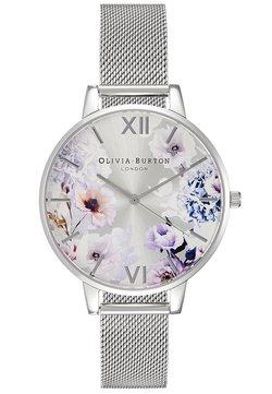 Olivia Burton - SUNLIGHT FLORALS - Montre - silver-coloured