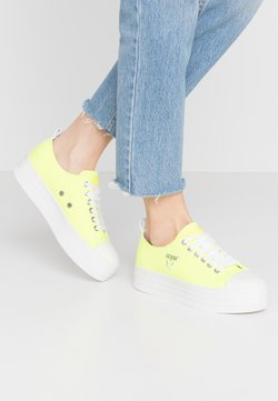 Guess - BRIGS - Sneakers basse - yello