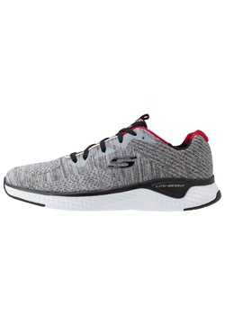 Skechers Sport - SOLAR FUSE - Sneaker low - grey/black