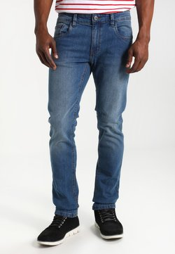 INDICODE JEANS - PITTSBURG - Slim fit jeans - medium indigo