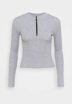 Trendyol - Camiseta de manga larga - gray