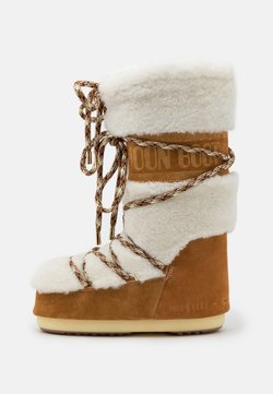 Moon Boot - Snowboot/Winterstiefel - whisky/offwhite