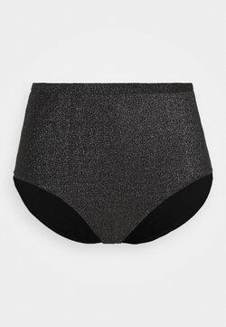 JUNAROSE - by VERO MODA - JRMILLI HIGHWAISTED BOTTOM  - Bikinialaosa - black/silver