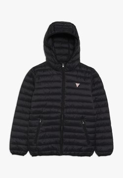 Guess - JUNIOR UNISEX PADDED PUFFER - Talvitakki - jet black