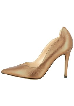 Evita - High Heel Pumps - messing