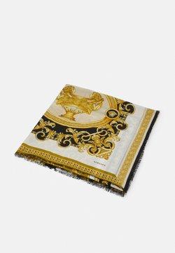 Versace - BAROCCO SHAWL UNISEX - Chusta - bianco/oro/kaki