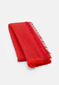 Tory Burch - LOGO TRAVELER SCARF - Tuch - bright red