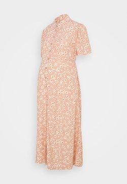 Pieces Maternity - PCMMILLER DRESS - Blusenkleid - pink