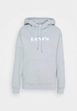 Levi's® - GRAPHIC STANDARD HOODIE - Sweat à capuche - pearl gray