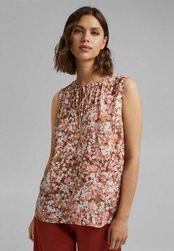 Esprit Collection - FLOWER - Bluse - bark