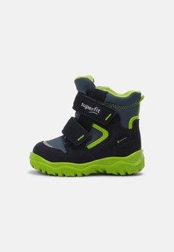 Superfit - HUSKY - Lauflernschuh - blau/grün