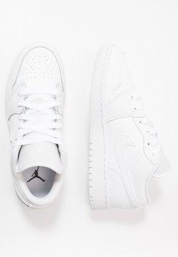 Jordan - AIR 1 LOW UNISEX - Indoorskor - white