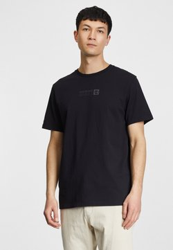 Timberland - BRAND CARRIER - T-Shirt print - black