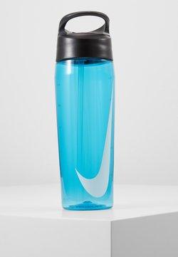Nike Performance - HYPERCHARGE STRAW BOTTLE 709ML UNISEX - Drikkeflaske - blue fury/anthracite/white