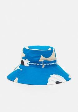 Marimekko - SIIMEKSESSÄ UNIKKO HAT - Hattu - beige/blue/black